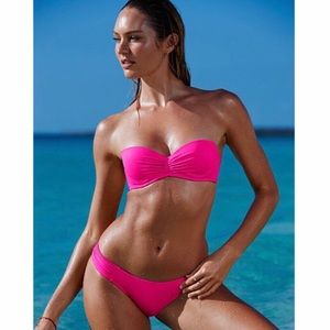 Victoria's Secret The Flirt Bandeau Bikini Top 34C
